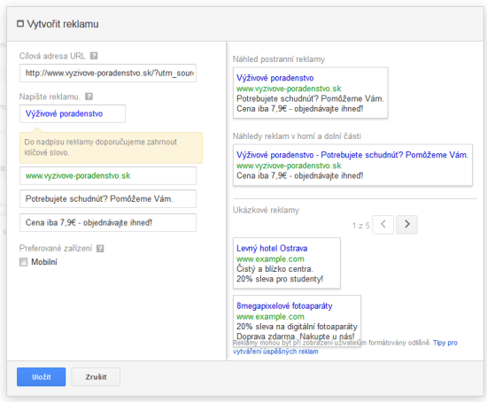 Google Adwords STEP 2