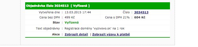Doména výživovo.sk