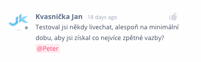 Test live chat