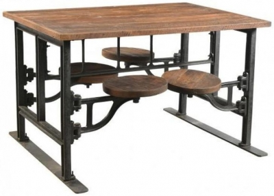 Industrial Dining Table Industrial Style Dining Table For