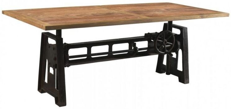 Buy Cast Iron Industrial Rectangular Dining Table