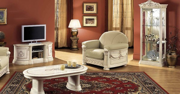 Italian Living Room Furniture Cabinets, Tables, Mirrors - italian living room sets