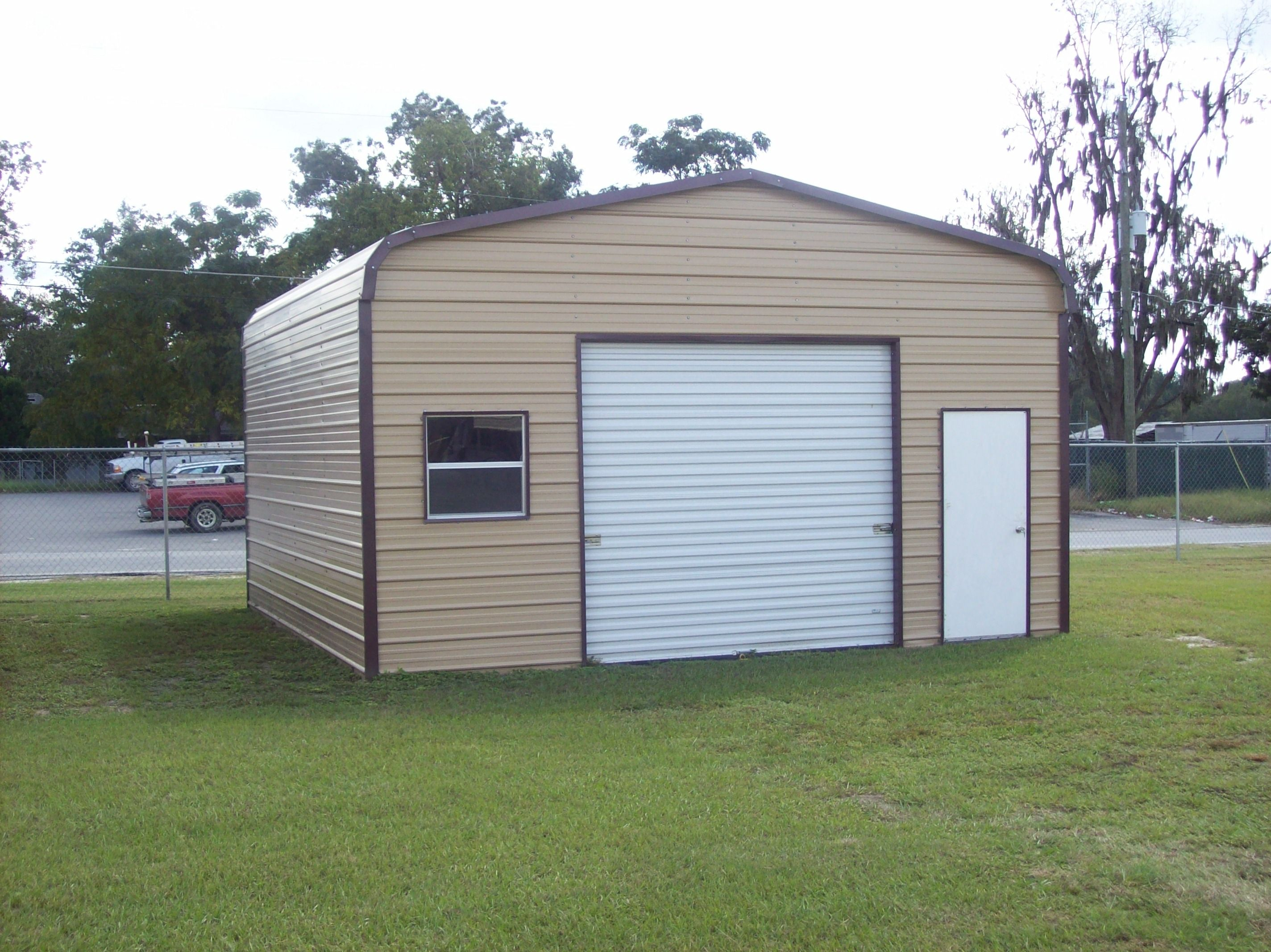 20 X 21 X 10 Garage Choice Metal Buildings