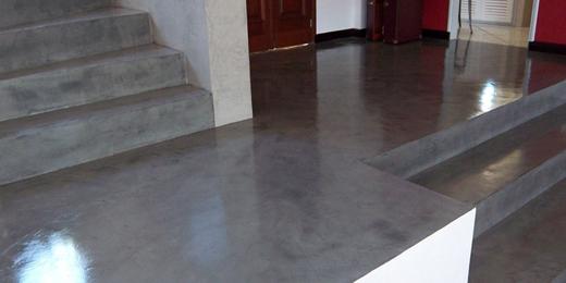 Le béton ciré du sol à la décoration - Choisirmoncontructeur - Faire Une Terrasse En Beton Cire