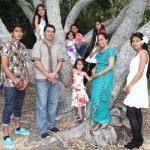 The Fuatas and family worship