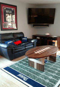 Football Shaped Coffee Table | Modern Coffee Tables and ...