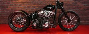 1977 Black bike by Tylers Design