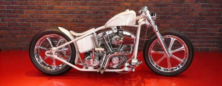 1979 chrome bike by Tylers Design