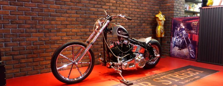 1981 H-D Shovel Chopper 公認リジット