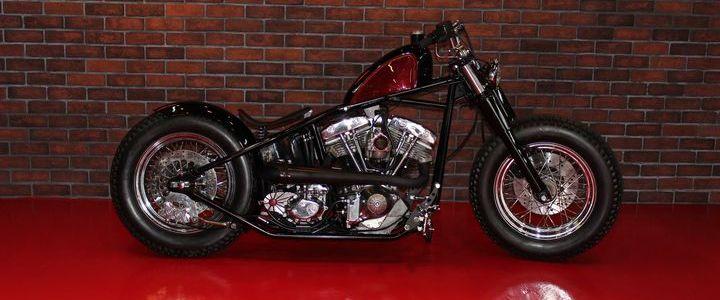 1975 Rising Sun Shovelhead Harley Davidson
