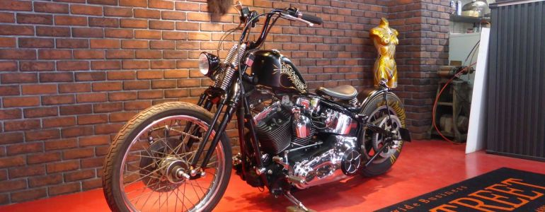 2001年 FXSTD old school  chopper style
