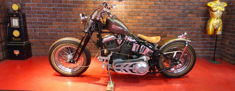 1992年 FLSTF springer chopper