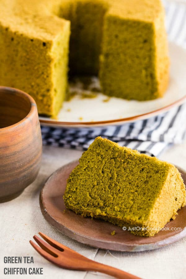 Matcha Green Tea Chiffon Cake