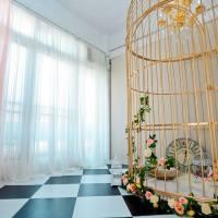 美麗的金色鳥籠與紅色喜氣的中式景 KAGE Studio實景介紹