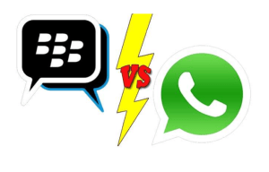 WhatsApp vs BBM: A Face-off Between Two of the World's Most Popular Chat Apps