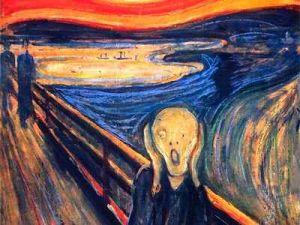 The Chocolate Panic Scream by Edvard Munch