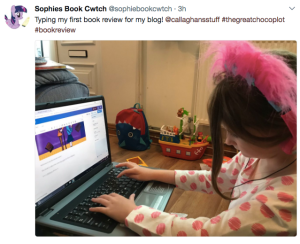 Sophie Reviewing The Great Chocoplot