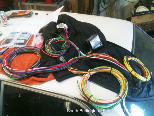 Chassis rewiring and modern fuse box
