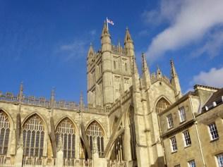 Bath Abbey. Good memories of graduation