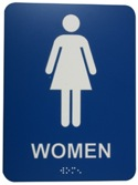 Women Washroom Sign