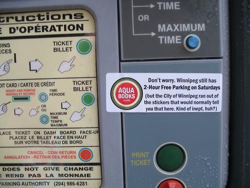 Aqua Books - Parking Meters