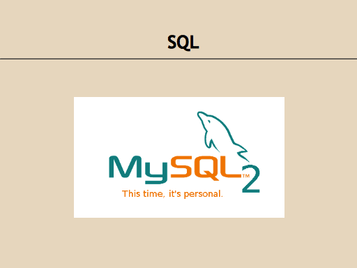 SQL: My Sequel 2. This time, it's personal.