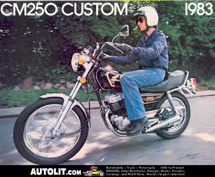 Honda CM 250 Custom Motorcycle (CM250C)