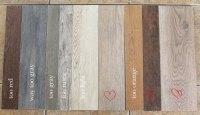 Our Flooring: Solid Wood vs. Faux Wood Tile - Chris Loves ...