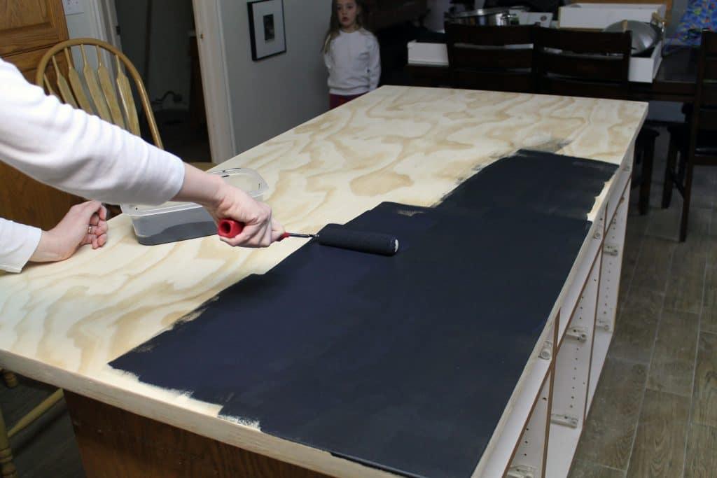 diy soapstone countertops soapstone kitchen countertops How To Install Soapstone Countertops Fabricating The Counter Crop