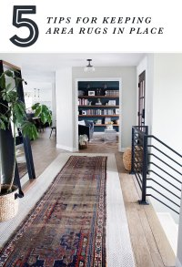 Keeping A Rug In Place On Carpet - Area Rug Ideas