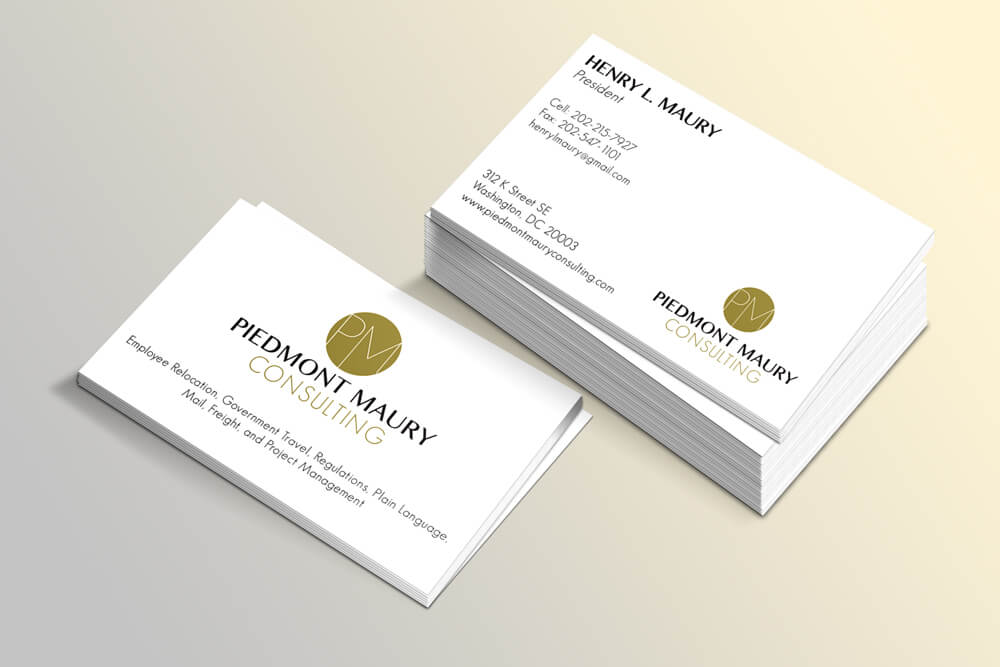 PMC Logo Design  Business Card