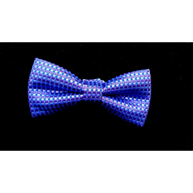 Bowtie and Pocket Square in Purple