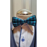 Checkered Bow Tie and Handkerchiefs