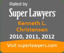Super Lawyers Badge - Ken Christensen