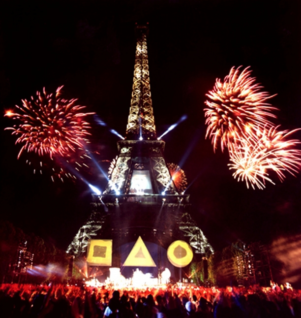 Art Design Wallpaper Hd Jean Michel Jarre Concert Pour La Tol 233 Rance Tour Eiffel