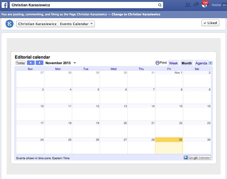 Add Calendar Google Calendar Example Add Someone Elses Google Calendar Google Support How To Embed Google Calendar On Your Facebook Page With