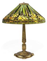 A TIFFANY STUDIOS DAFFODIL TABLE LAMP , CIRCA 1910 ...