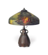 PITTSBURGH LAMP, BRASS & GLASS CO. , 'CALL OF THE WILD' A ...