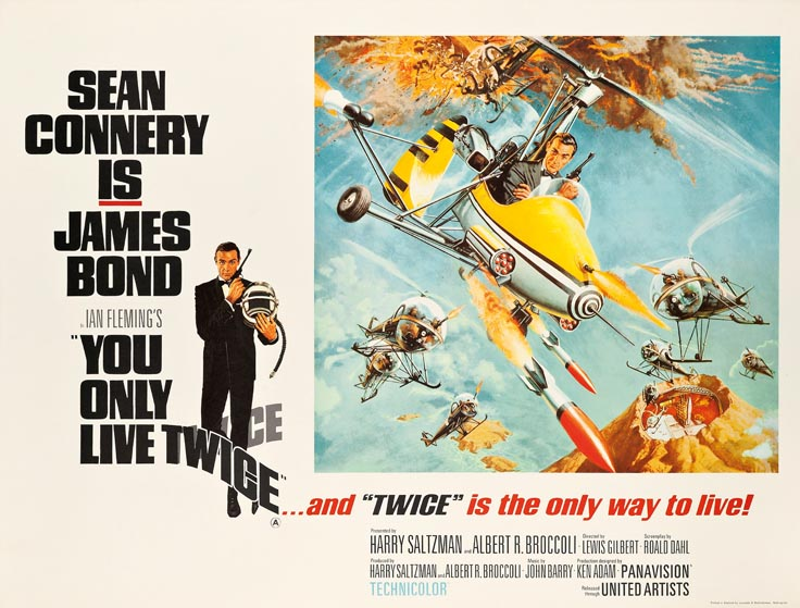 Everything you ever needed to know about James Bond film posters