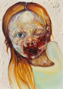 Speepy, oil on canvas, 70 x 50 cm, 2015