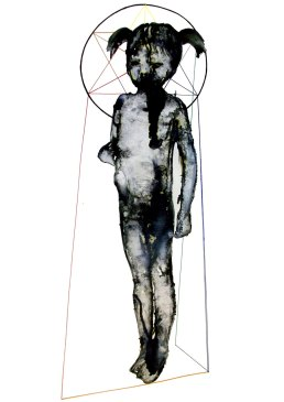 Seduction 3, ink on paper, 70 x 100 cm, 2015