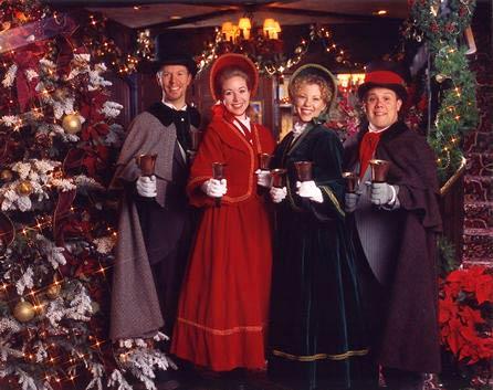Tis the Season Handbell Carolers - christmas carolers decorations
