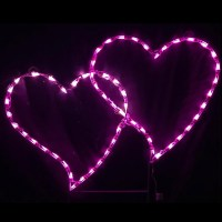 LED Outdoor Christmas Decorations - Lighted Valentines Day ...
