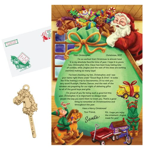 Personalized Letter From Santa Christmas Gifts