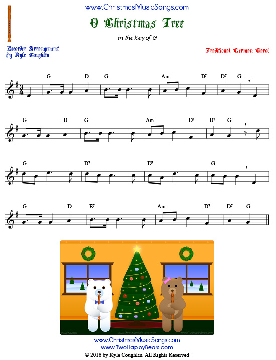 Free Recorder Christmas Music in Printable PDFs