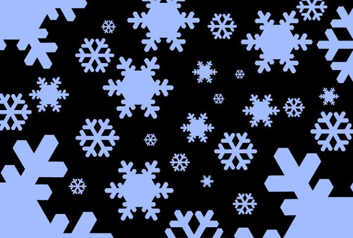 Free Falling Snow Wallpaper Download Photo Of Graphic Blue Snowflakes Free Christmas Images