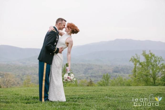 Smoky Mountain Military Elopement - Christopher Place Resort