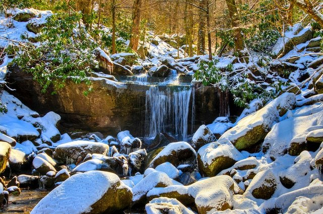 Fall Schoolhouse Wallpaper 11 Great Winter Hiking Trails In The Smoky Mountains