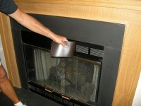Magnetic Fireplace Vent Covers   Fireplace Draft Stopper ...