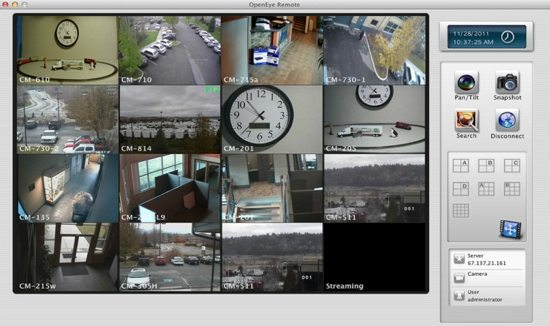 OpenEye Remote Screenshot